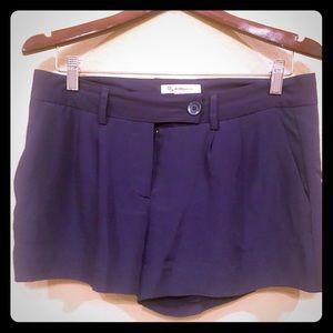 Bcbgeneration Midnight blue polyester shorts